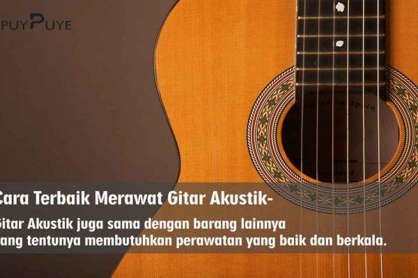 Cara Merawat Gitar Akuistik