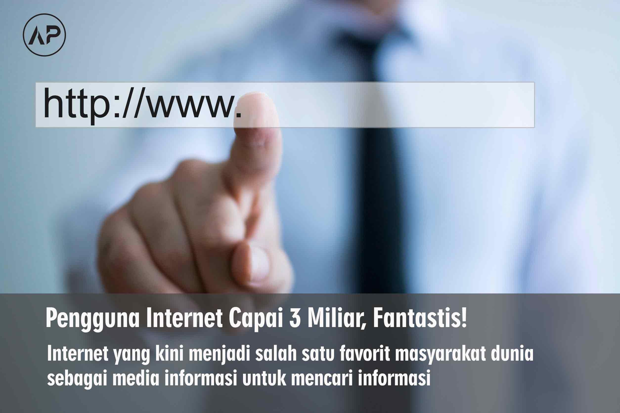 Pengguna Internet Tahun 2014 Capai 3 Miliar