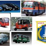 Jenis Alat Transportasi Umum Jakarta