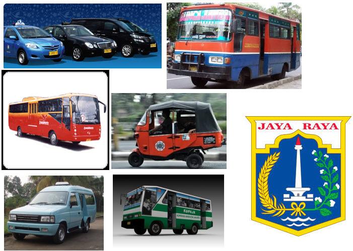 Alat Transportasi Umum Jakarta