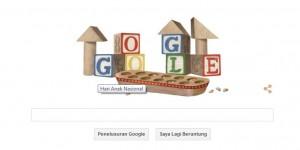 Google Ikut Rayakan Hari Anak Nasional