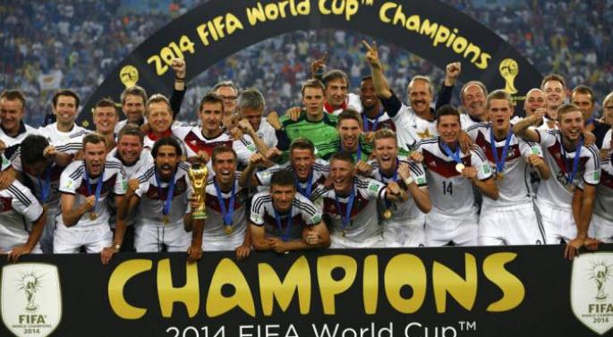 Jerman Buat Sejarah Baru Sepak Bola Dunia
