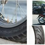 Kenapa Ban Sepeda Motor Cepat Botak ?