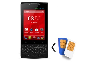 Smartphone Android Qwerty