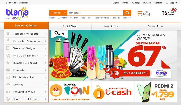 blanja.com tempat belanja online yang menguntungkan