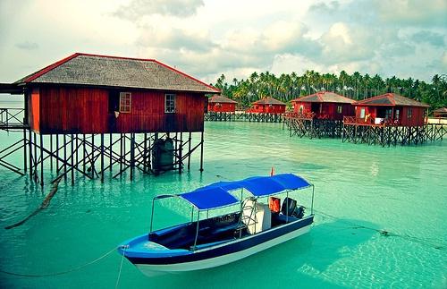 Maratua Paradise Resort, Kepulauan Maratua, Kalimantan Timur