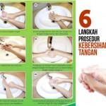 Langkah Cuci Tangan Paling Efektif Sebagai Penangkal Masuknya Kuman