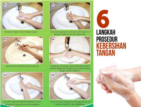 Langkah Cuci Tangan Paling Efektif