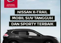 Banner Nissan X-Trail Mobil SUV Tangguh Dan Sporty Terbaik