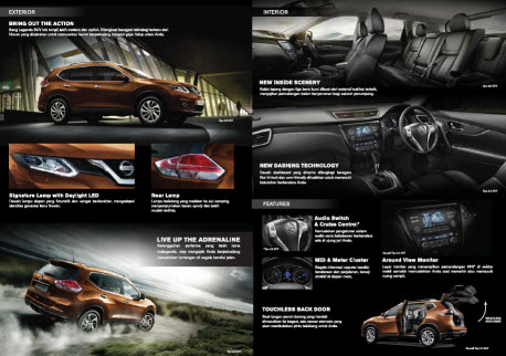 Interior dan Eksterior Nissan All New All New X-Trail