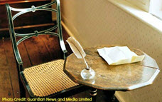 Ruang Kerja Jane Austen