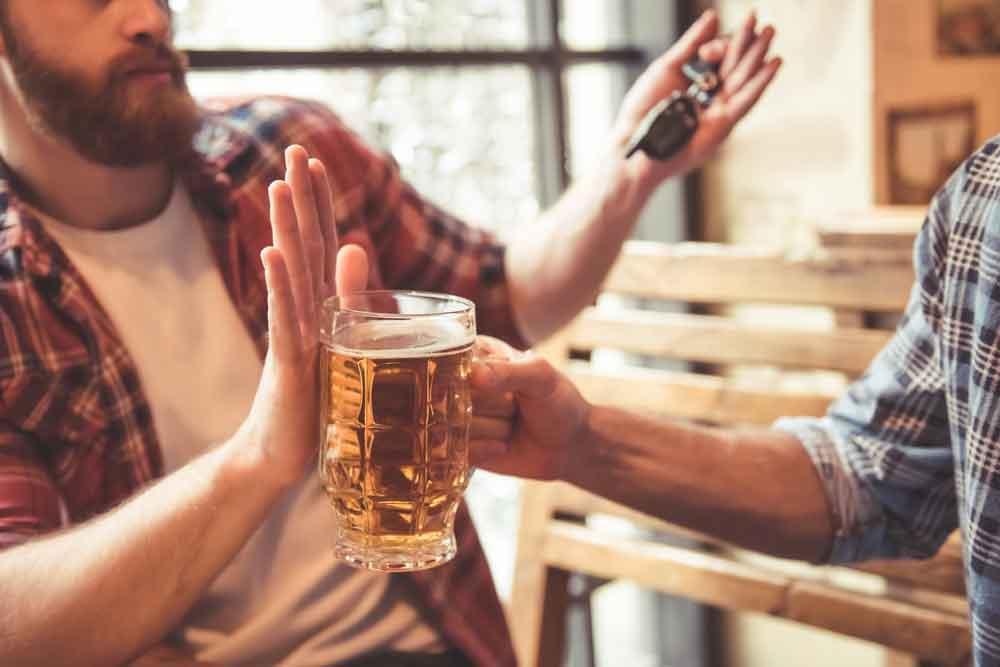 tidak minum minuman bersoda dan alkohol