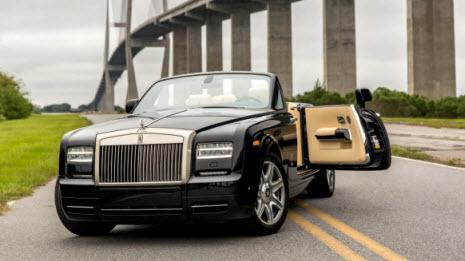 Rolls Royce Phantom Milik David Beckham