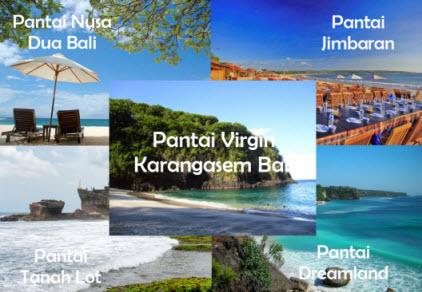 5 Pantai Bali yang Terindah dan Terpopuler