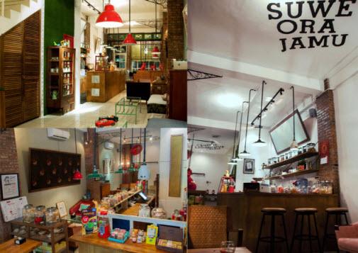 Cafe Swe Ora Jamu di Jakarta