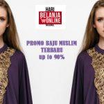Promo Baju Muslim Berkualitas, Potongan Harga Hingga 90%