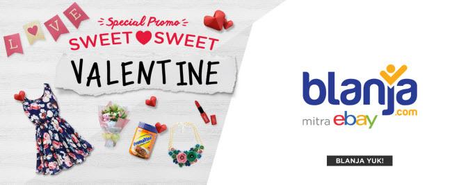 Promo Valentine di Blanja