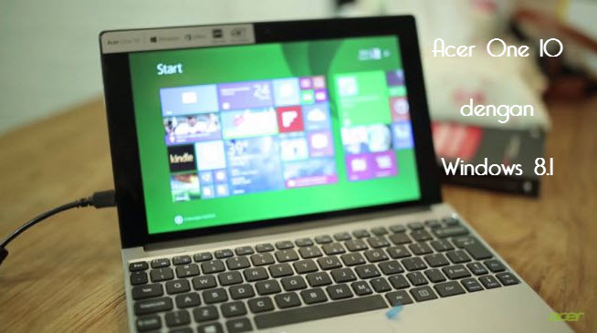 Acer One 10 With Windows 8.1
