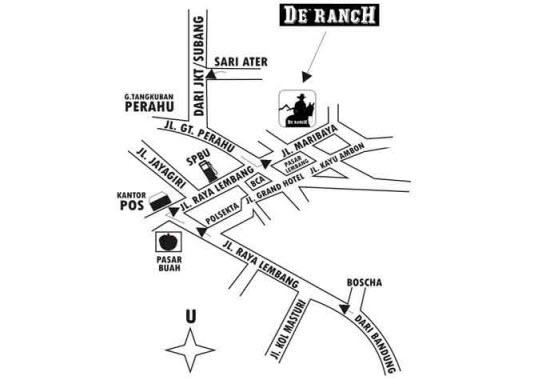 Lokasi De Ranch Bandung