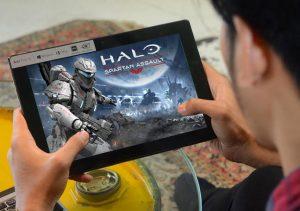 Main Game Online dengan Acer One 10