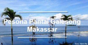 Pesona Pantai Galesong di Makassar