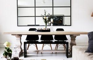 interior dengan cermin