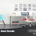 3 Jenis Meja yang Harus Tersedia di Kantor Anda