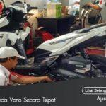 Tips Perawatan Sepeda Motor Honda Vario Secara Tepat