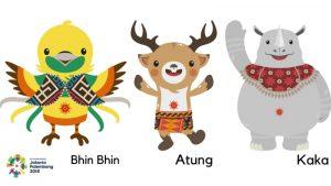 Maskot Asian Games Palembang 2018
