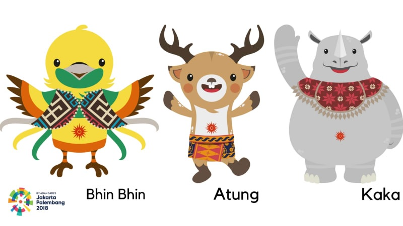 Maskot Asian Games Palembang 2018