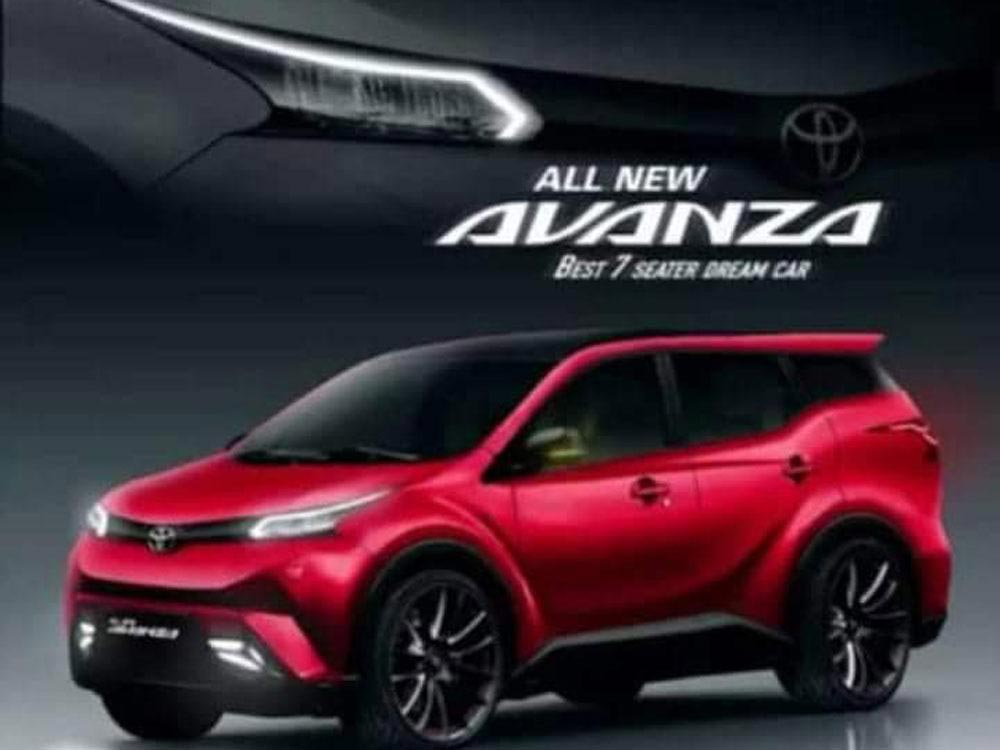 Toyota New Avanza Facelift 2019