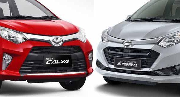 Daihatsu Sigra dan Toyota Calya